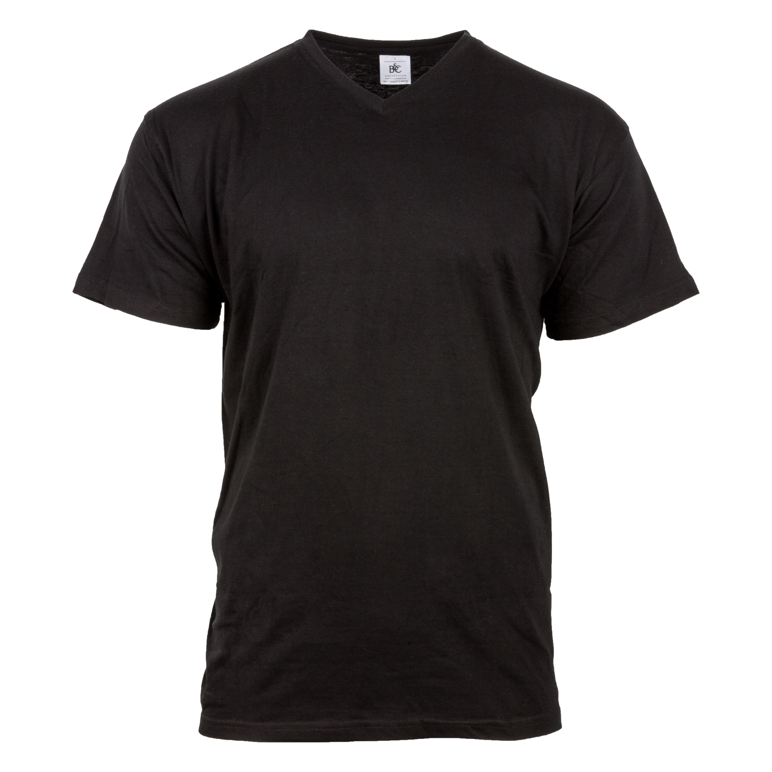 T-Shirt V-Neck black