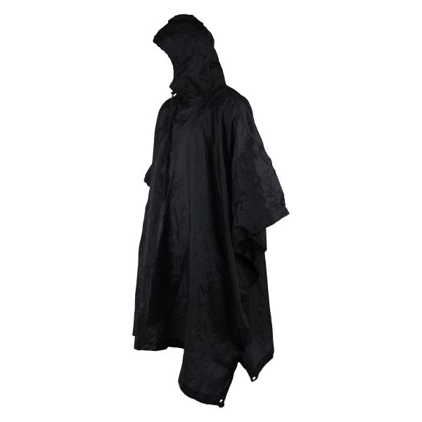 U.S. Rain Poncho black