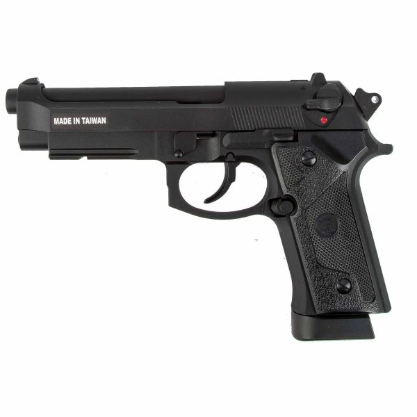 KJ Works Airsoft Pistol M9 Vertec Full Metal GBB Co2 black