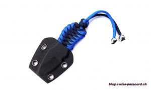 Neck Knife mit Paracord Wicklung
