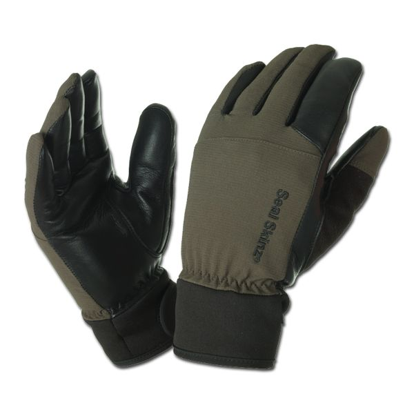 Sealskinz Hunting Gloves Ultra Grip olive