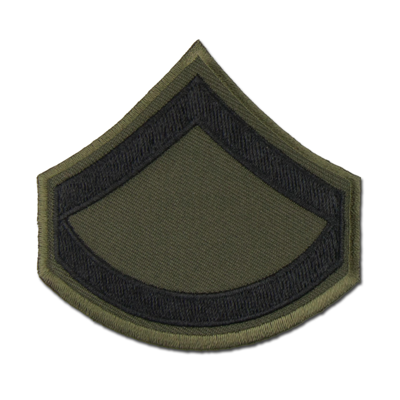 Rank Insignia U.S. Embroidered Private FC