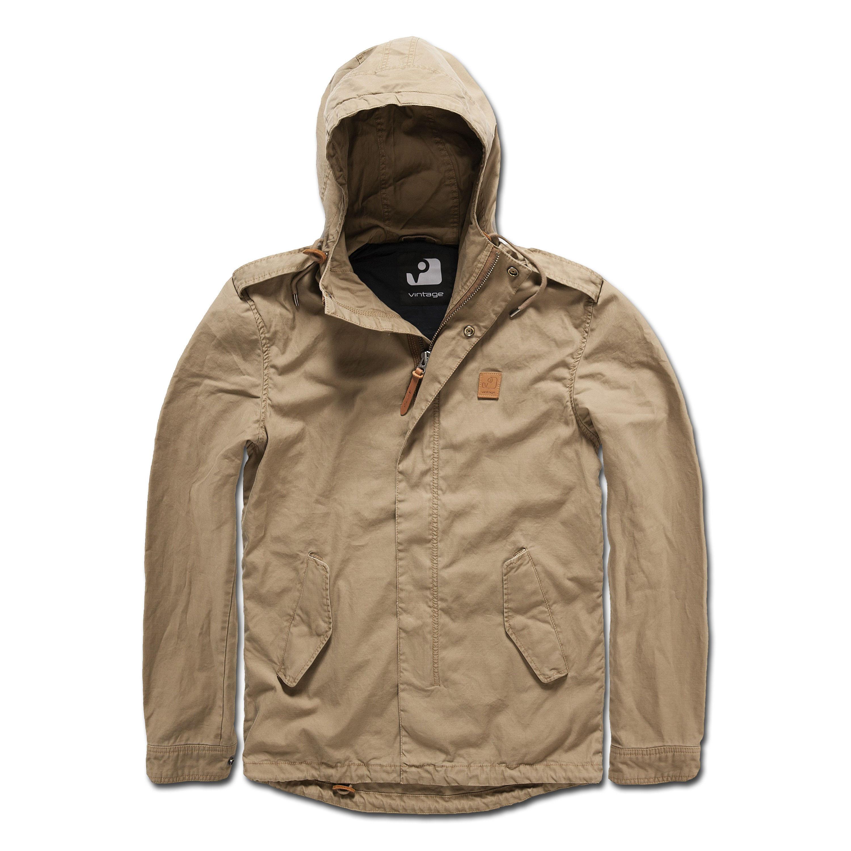 Jacket Vintage Industries Mason khaki