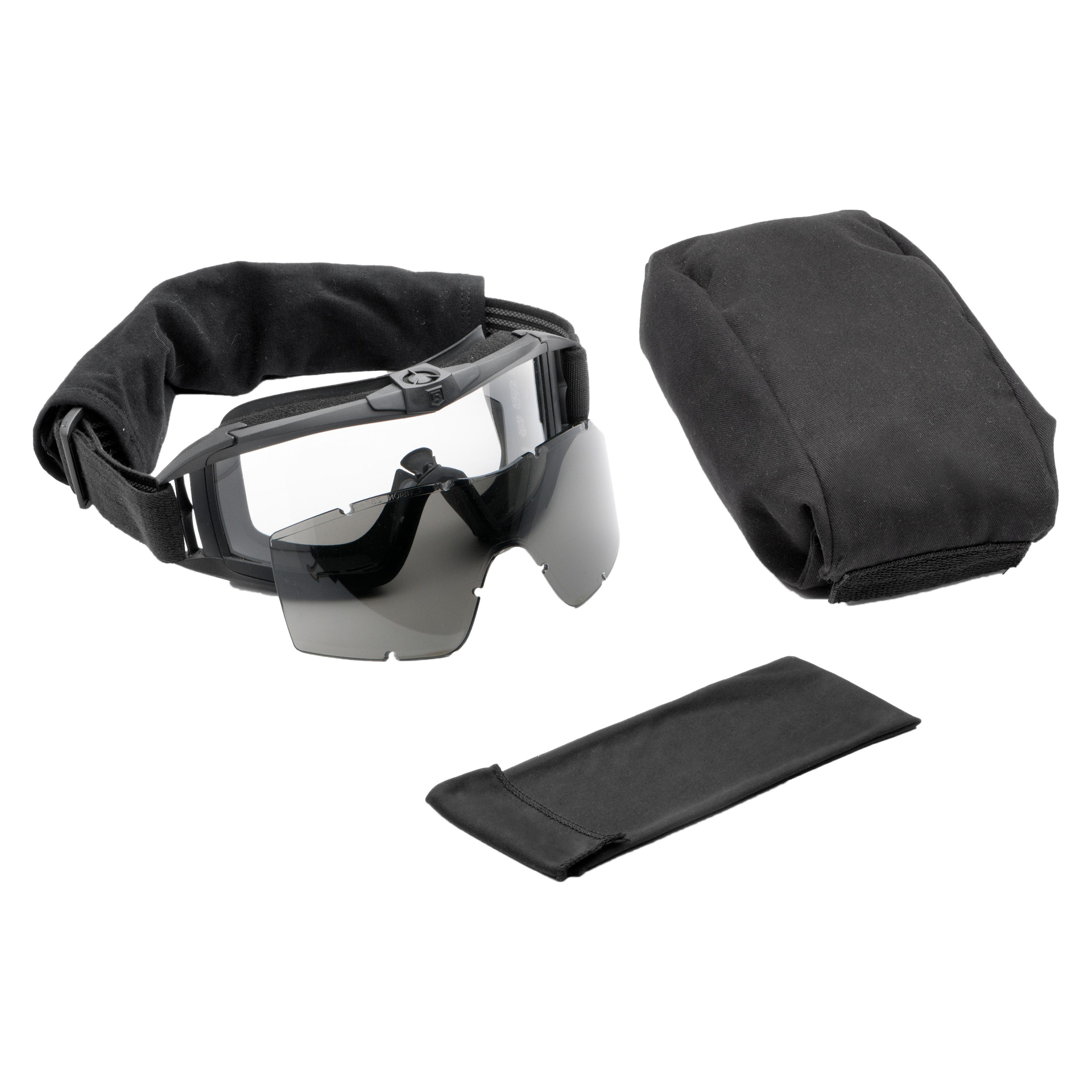 Revision Goggles Asian Locust Fan Essential black