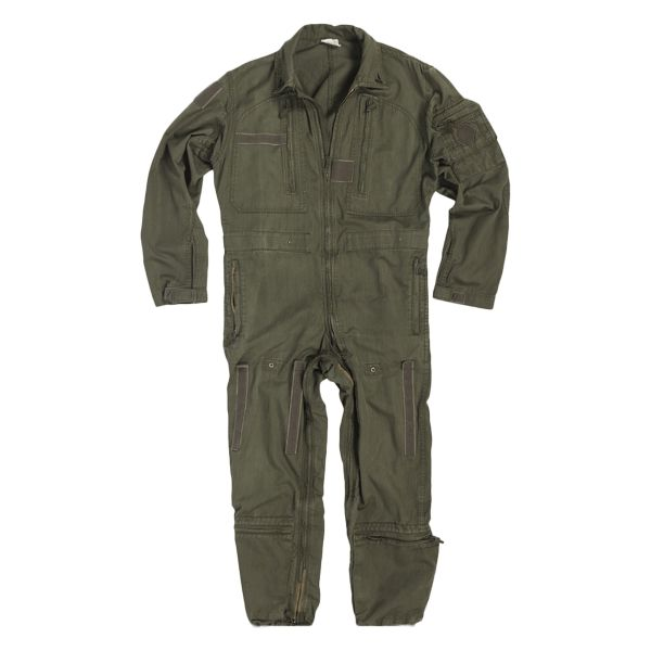 French Flight Suit Used olive