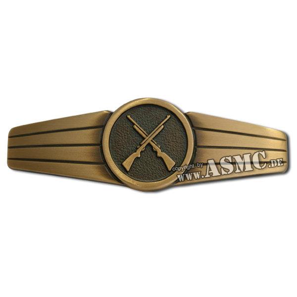 BW Insignia Sicherungspersonal Metal bronze
