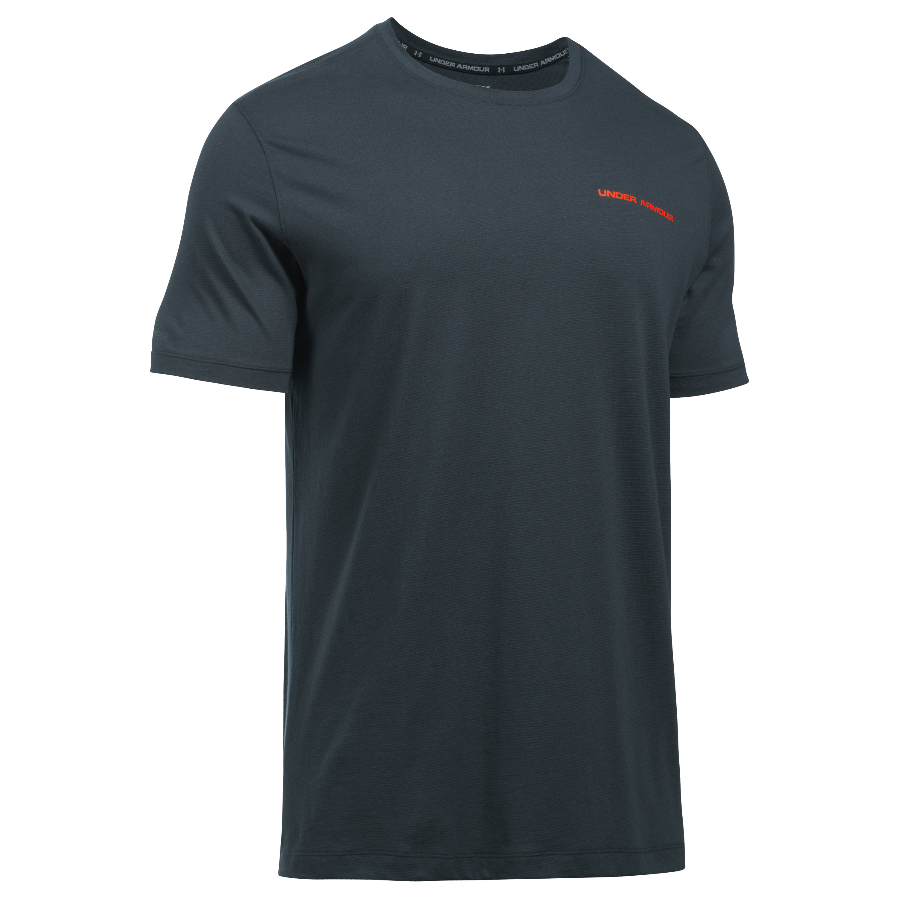 Under Armour Fitness T-Shirt Charged Cotton dark gray