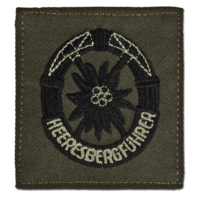 Army mountain guide insignia textile