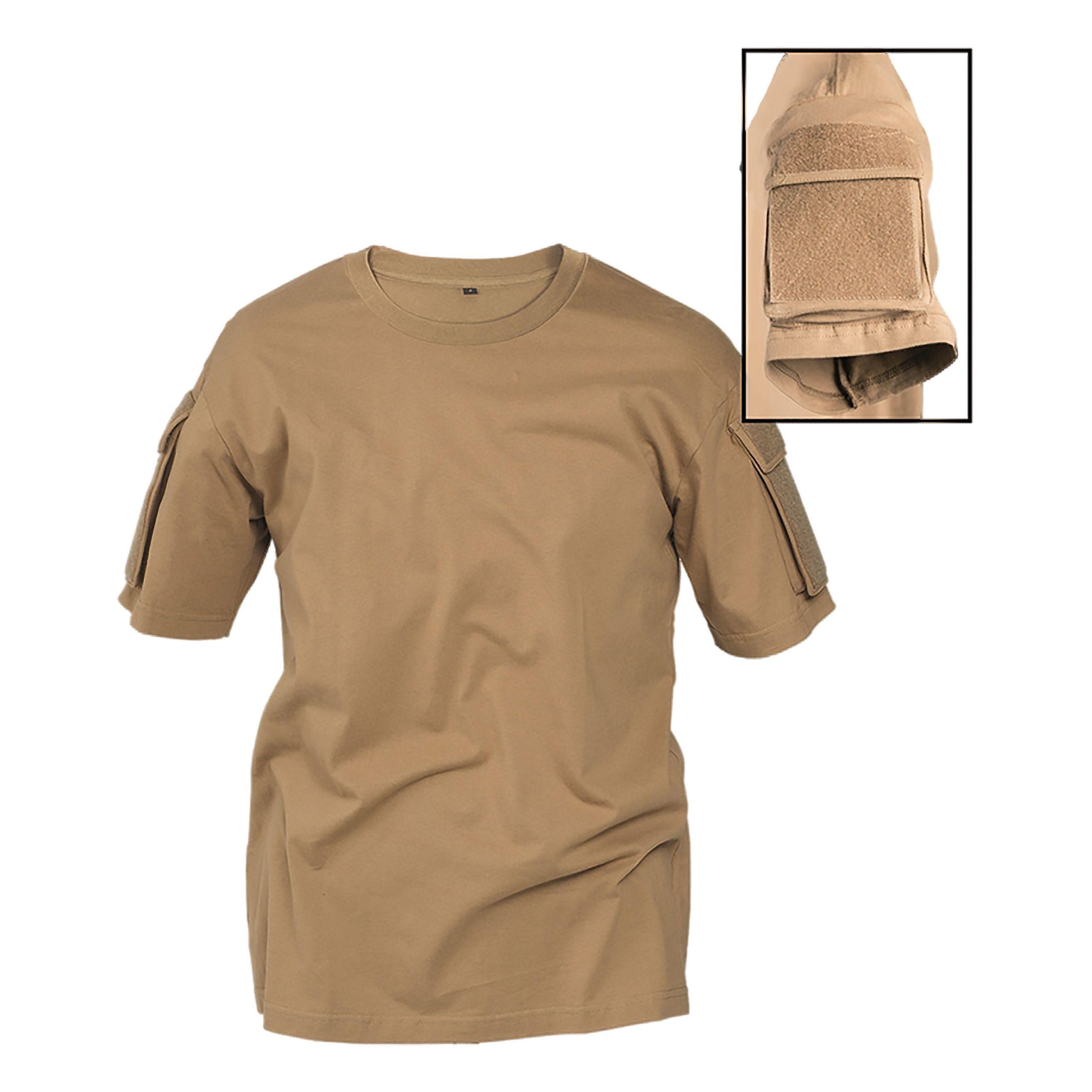 Mil-Tec Mens T-Shirt Mandra Tan