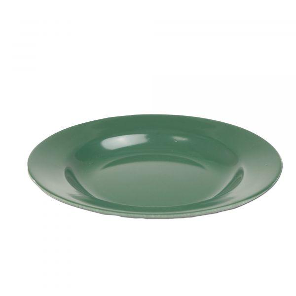 Plastic Plate olive