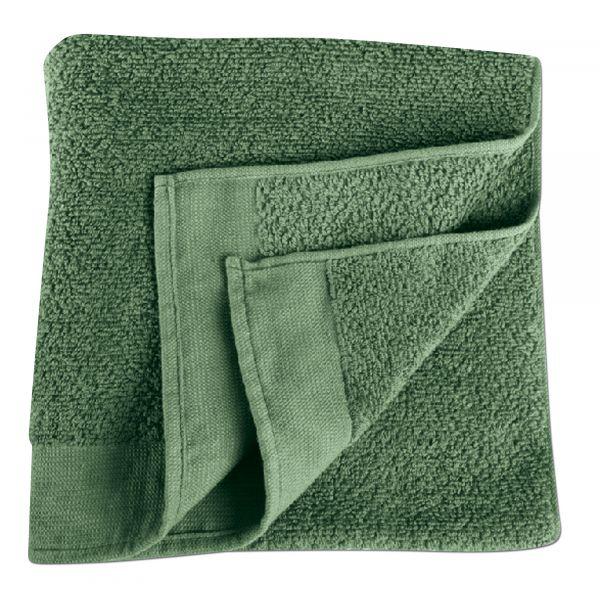 Towel olive green 90 x 50 cm