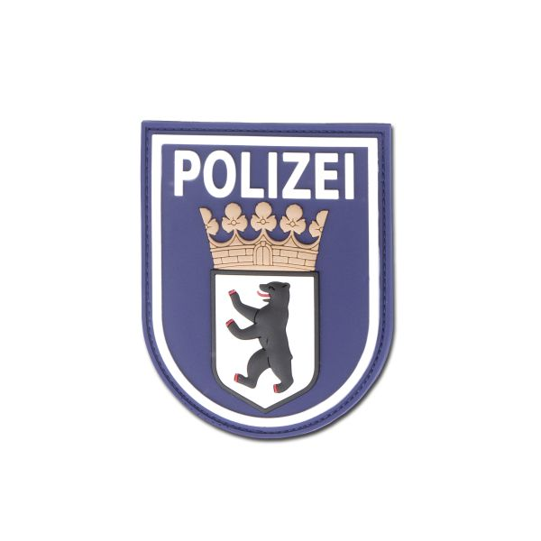 3D-Patch Polizei Berlin blue