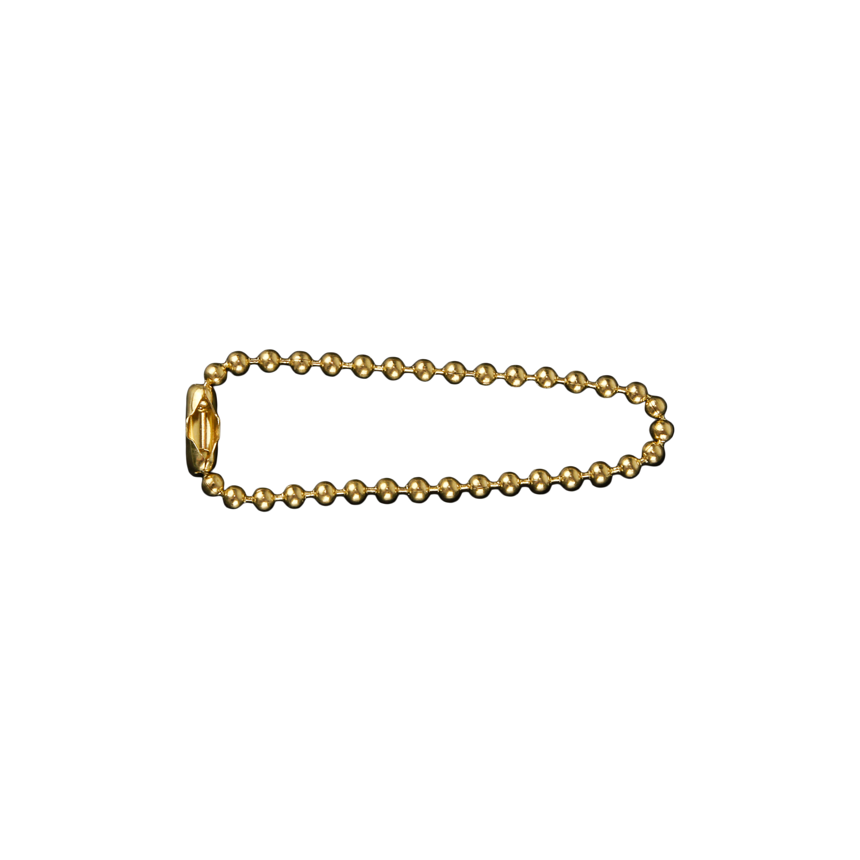 Necklace for Dog Tags 11cm Brass
