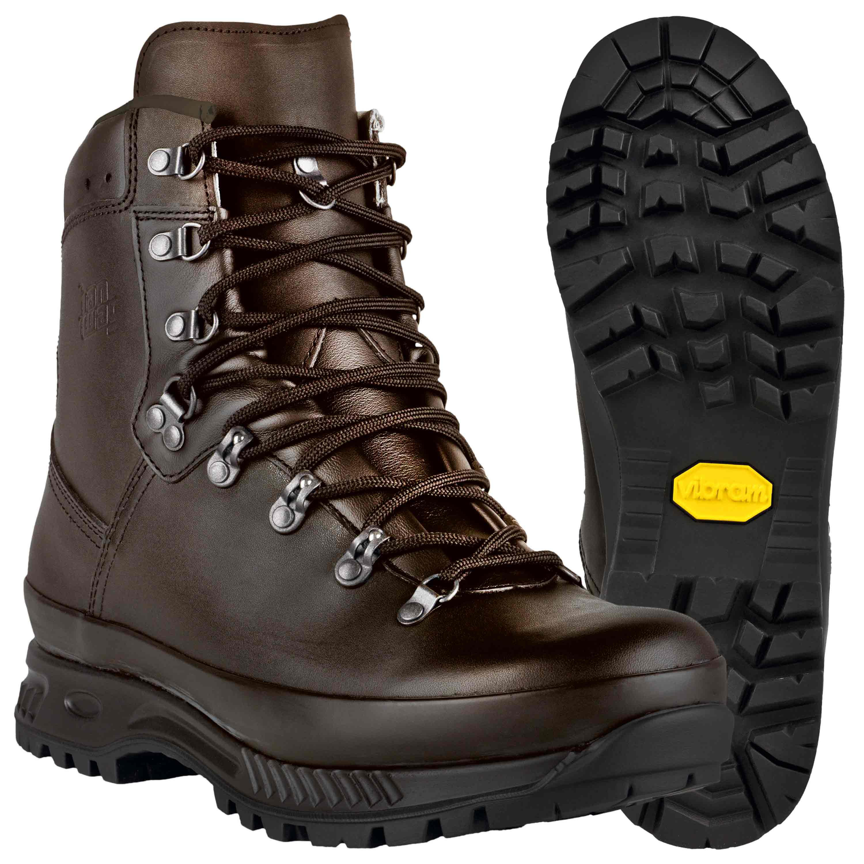 Hanwag Boots Special Force GTX hydro brown