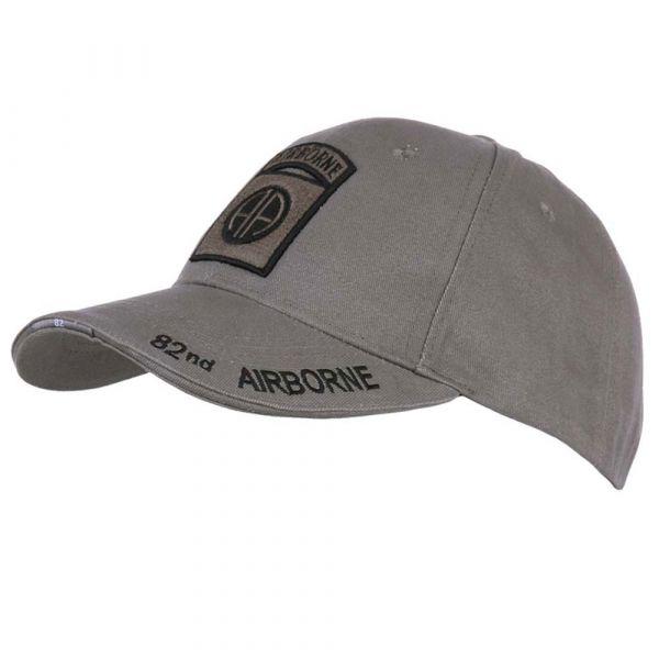 Fostex Garments Baseball Cap 82nd Airborne grey