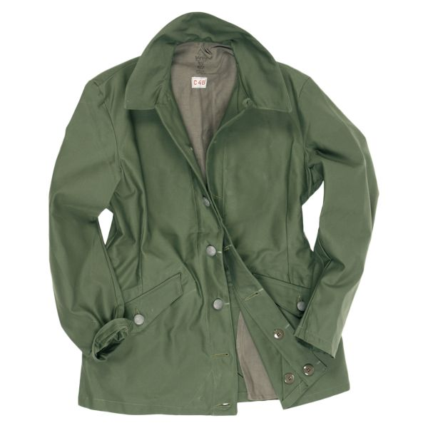 Used Swedish Field Jacket M59 olive