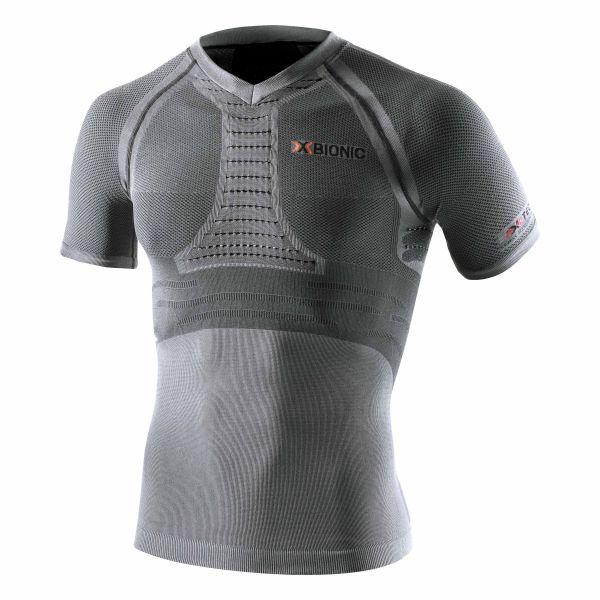 X-Bionic Shirt Running Man Fennec anthracite silver