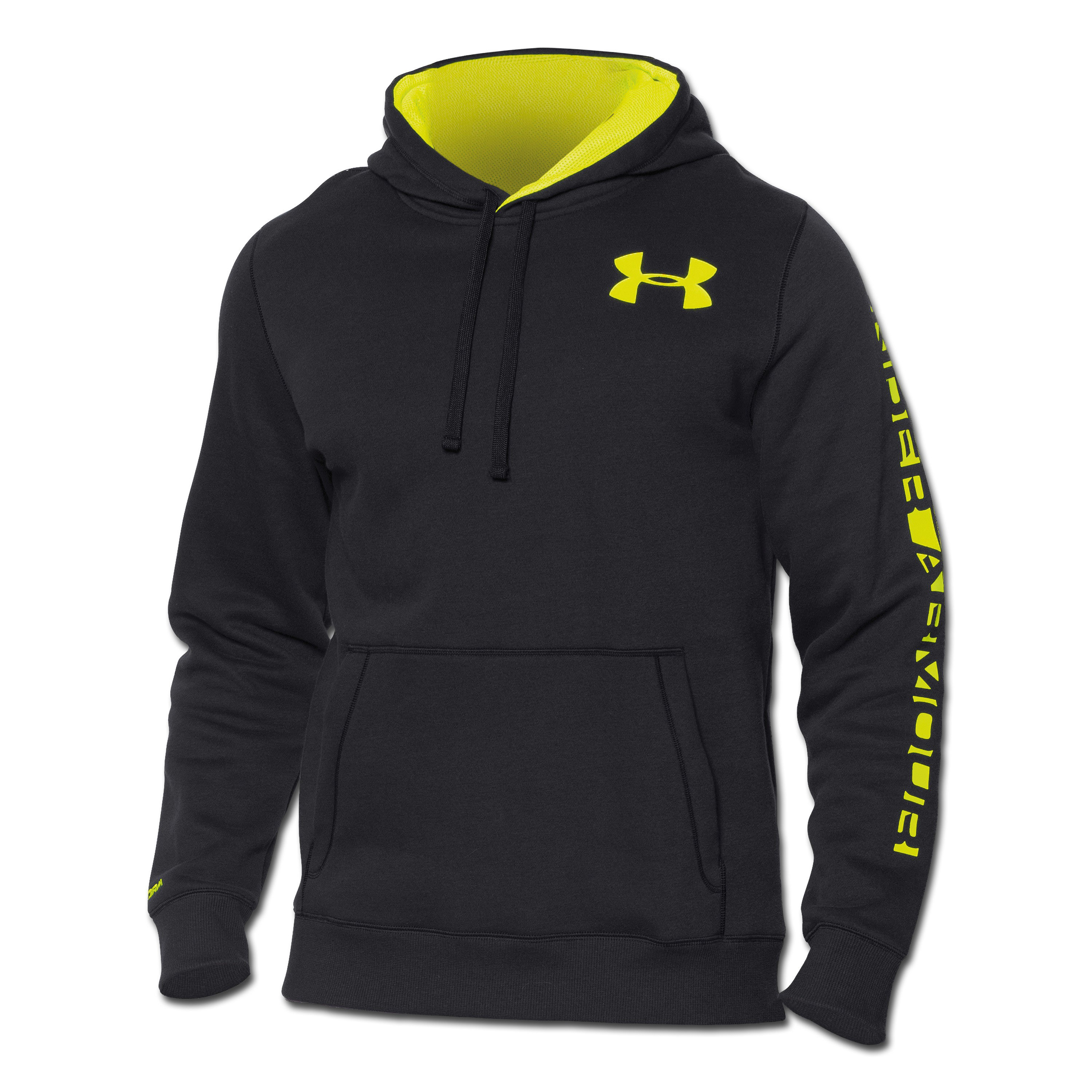 Under Armour Rival Cotton Graphic Hoody black
