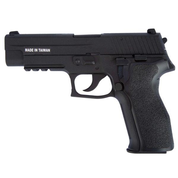 KJ Works Airsoft Pistol P226 E2 Full Metal GBB black