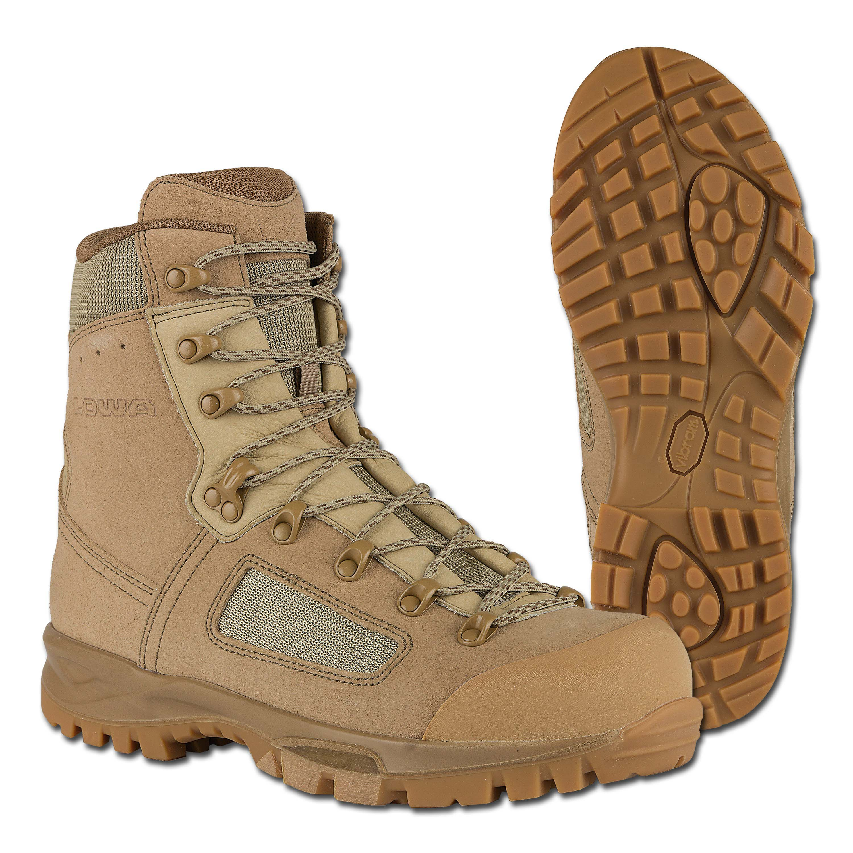 Boots Lowa Elite Desert WXL khaki