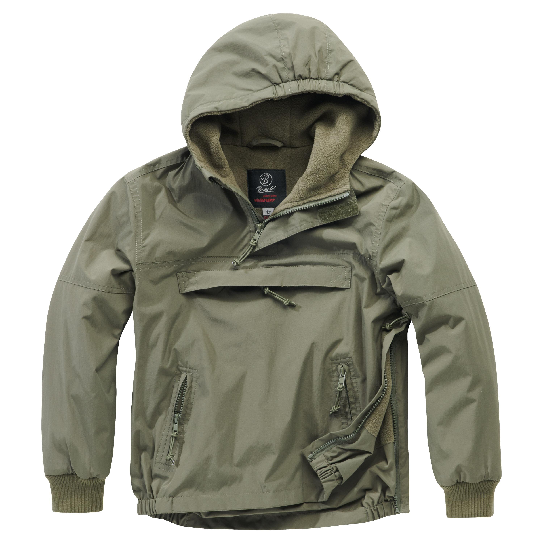 Brandit Windbreaker Jacket Kids olive