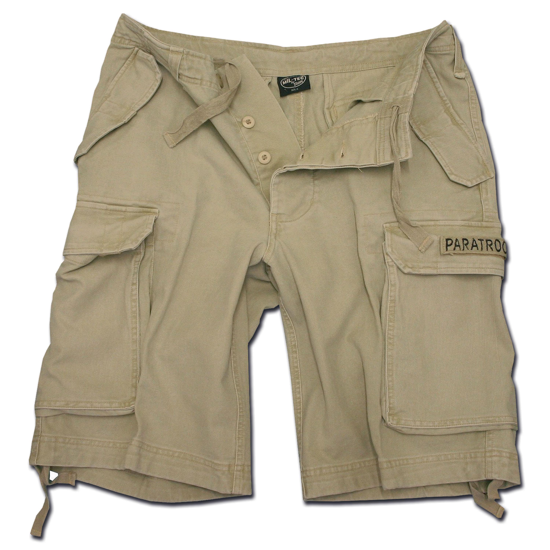Paratrooper Shorts washed khaki