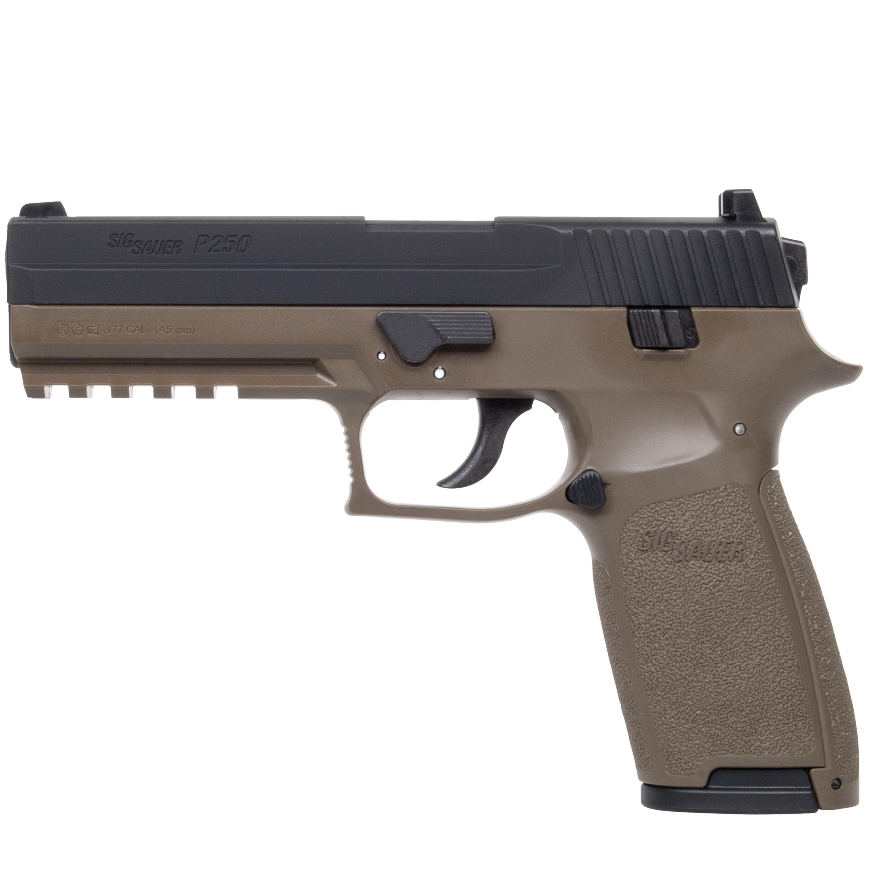 Pistol Sig Sauer P250 Co2 Dark Earth
