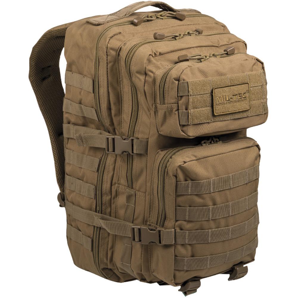 Armée Sac à dos one strap Assault Pack SM Tactical Black 10 L
