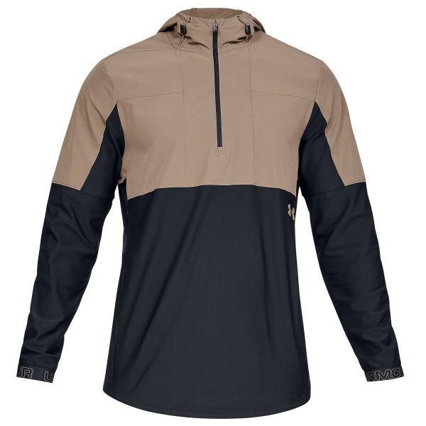 Under Armour Jacket Vanish Hybrid brown