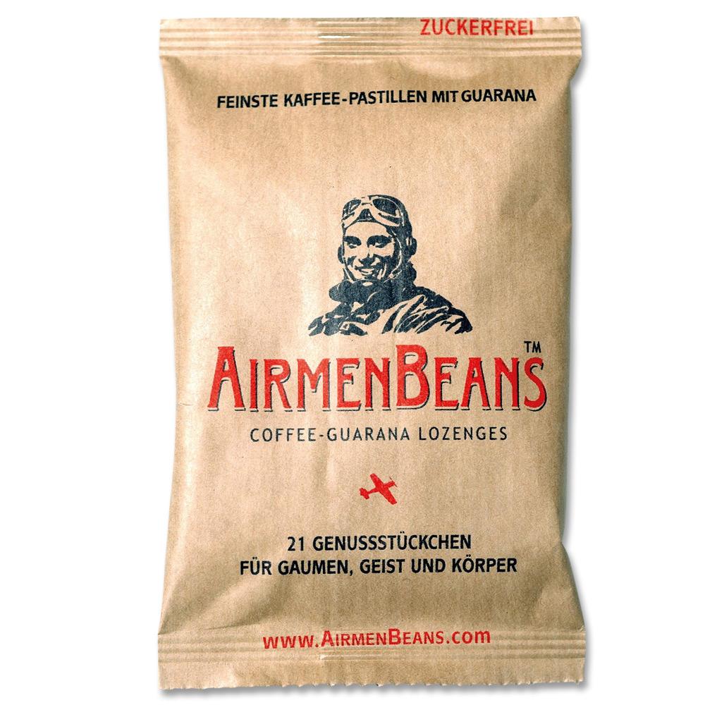 Airmenbeans Coffee Guarana Pastilles