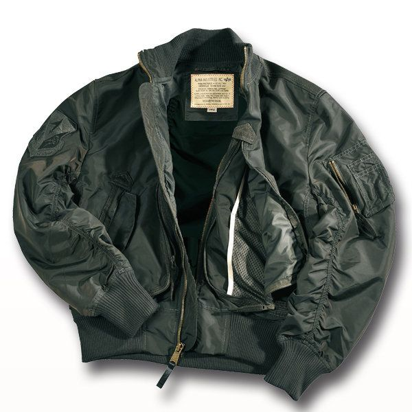 Alpha Flight Jacket Prop Repl. gray