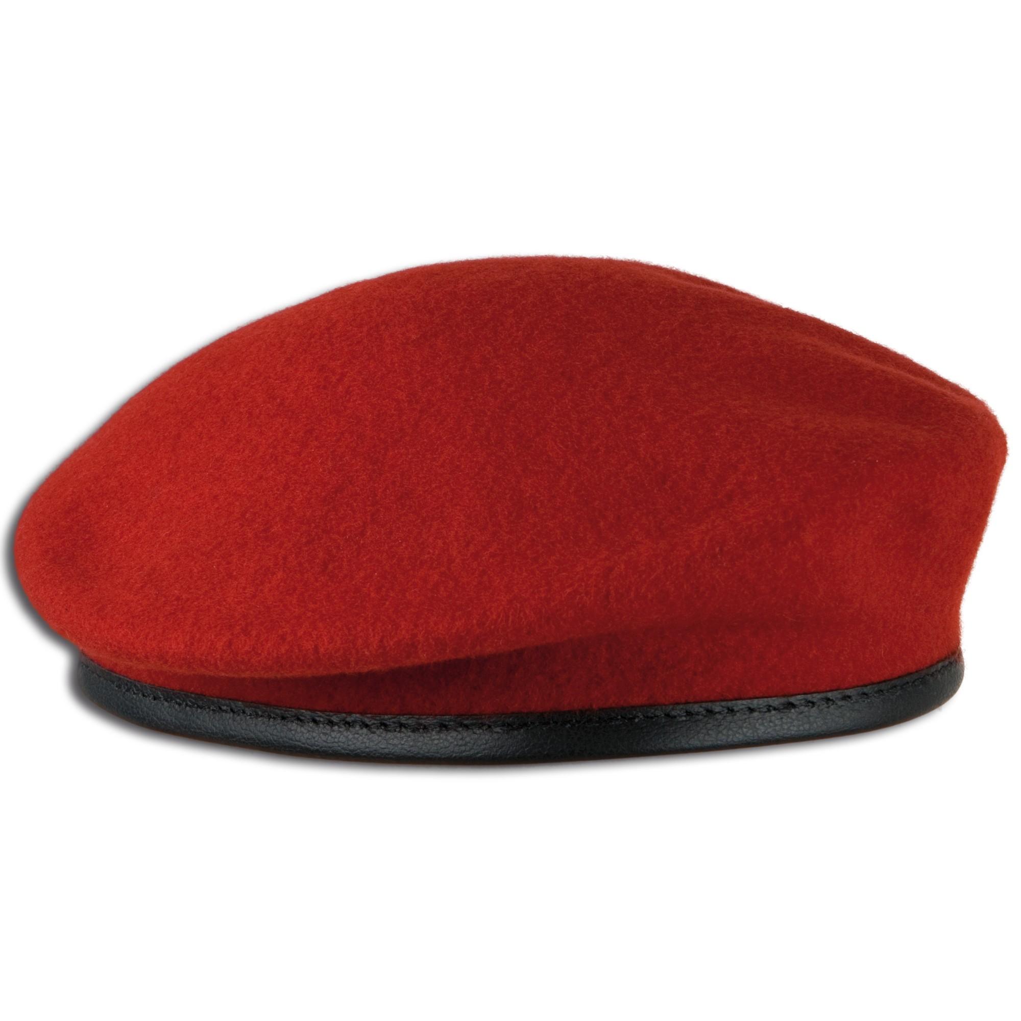 Commando Beret red