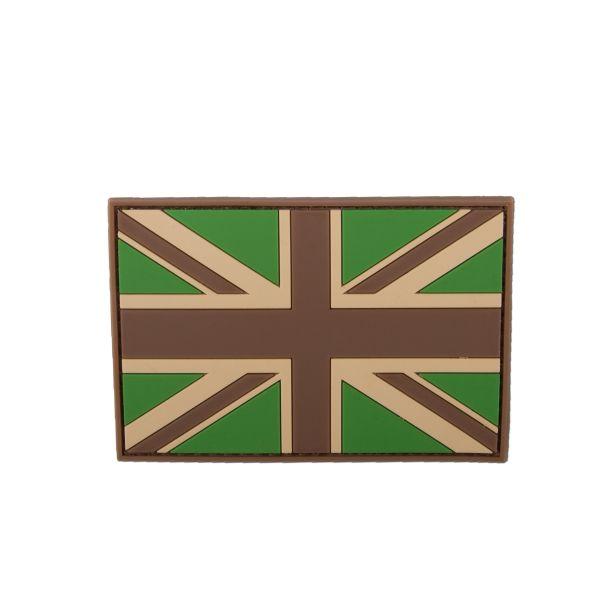 3D-Patch Great Britain Flag multicam