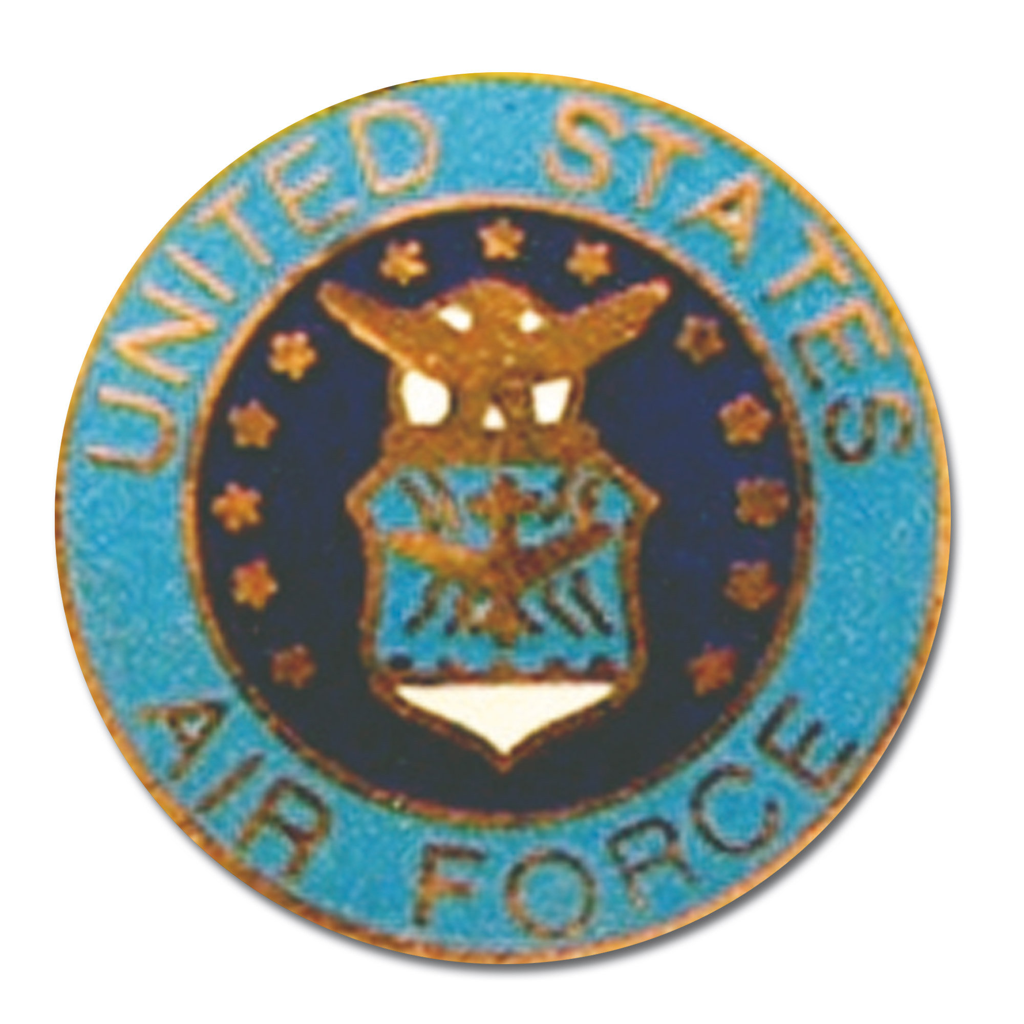Mini Pin U.S. Air Force Round