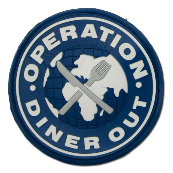 3D-Patch Operation Diner Out full color