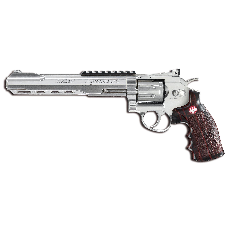 Revolver Ruger Super Hawk chrome
