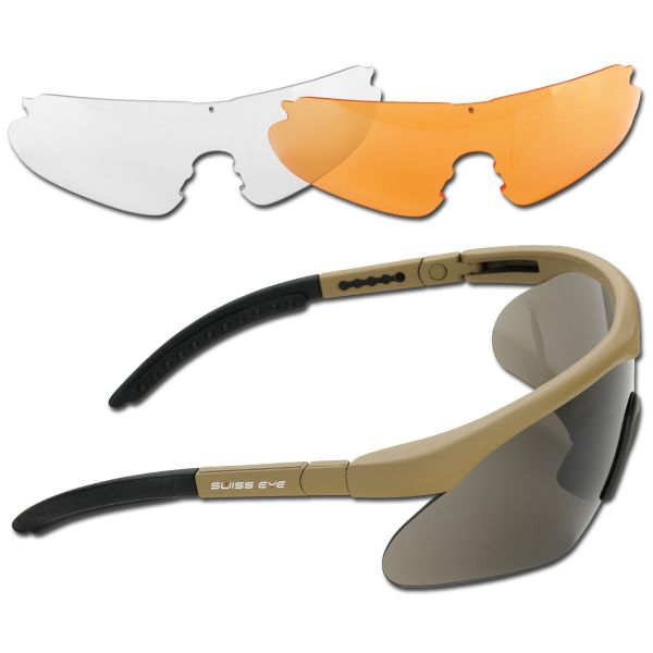 Safety Glasses Swiss Eye Raptor coyote