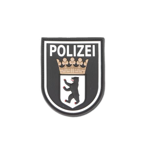 3D-Patch Polizei Berlin black