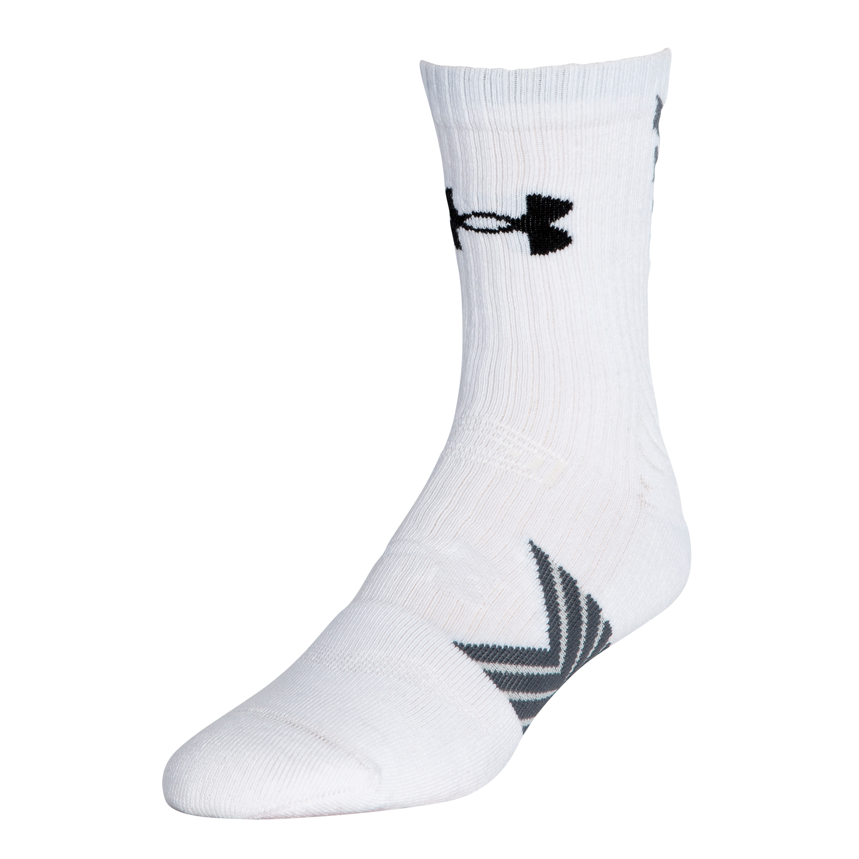 Under Armour Socks Undeniable Mid Crew white