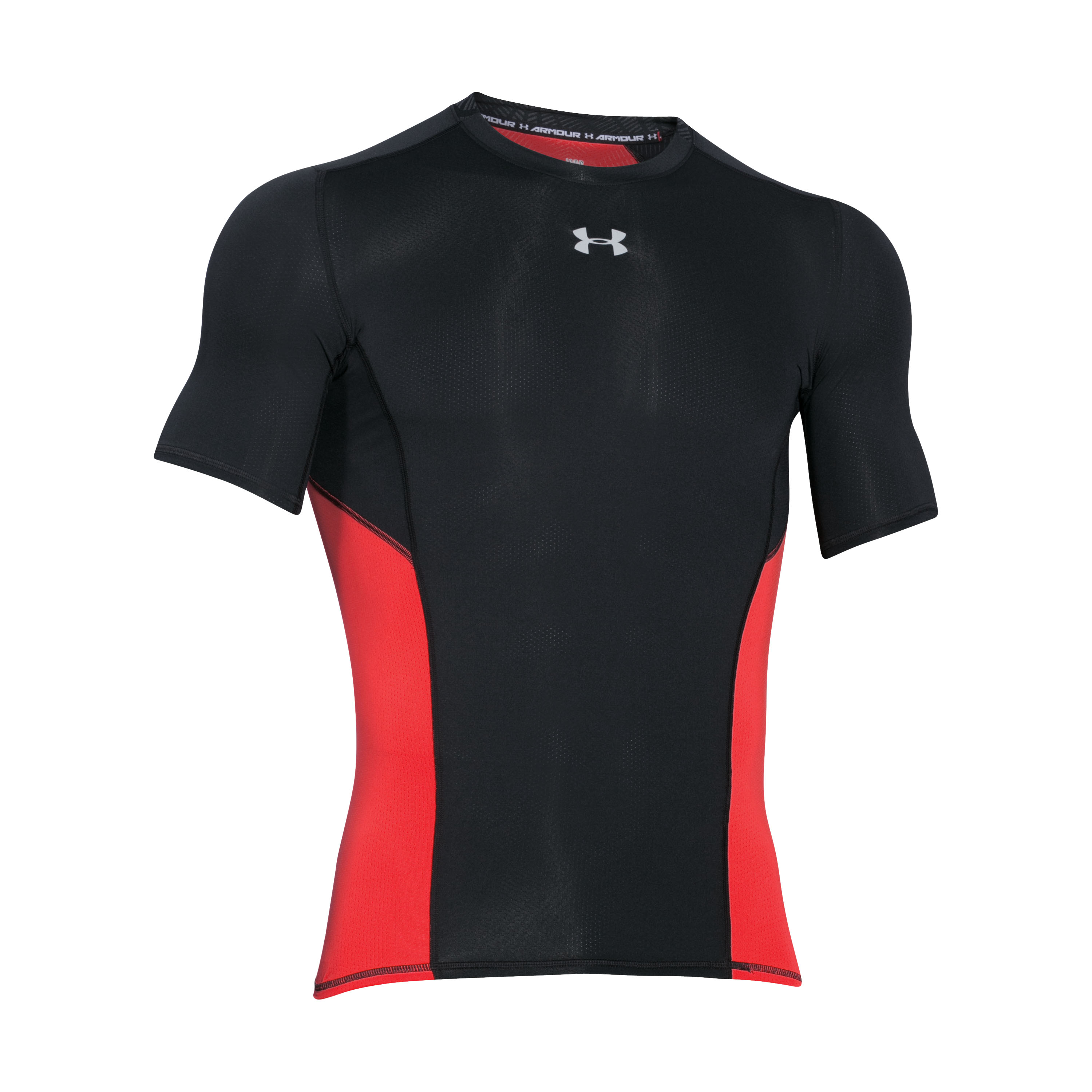 Under Armour Shirt Compression Short Sleeve black