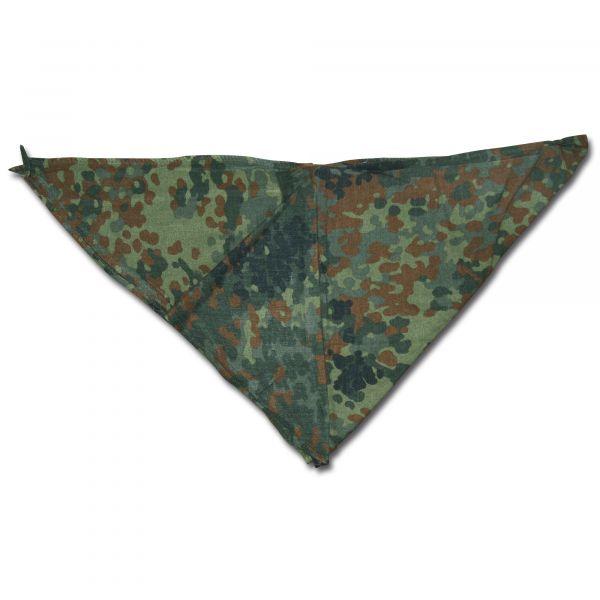 Used German Army Triangular Scarf flecktarn