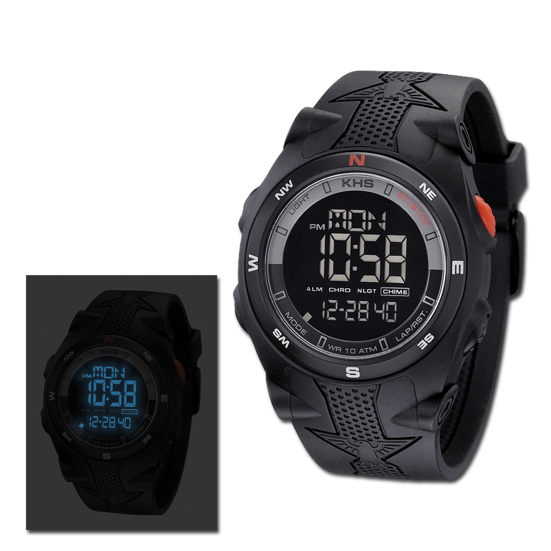 Wristwatch KHS Sentinel DC black