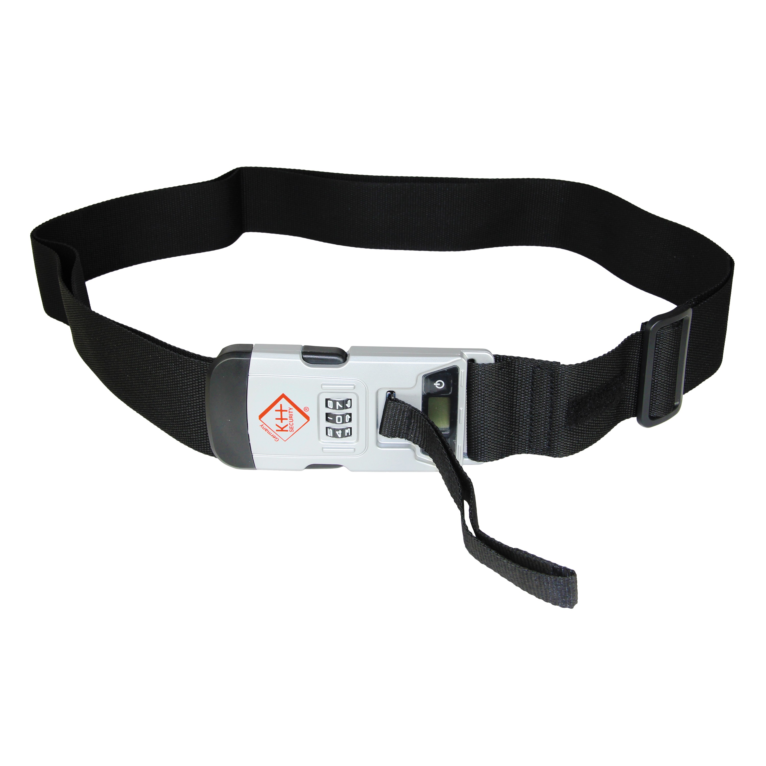 Luggage Strap with Integrated Digital Scale 2 in 1