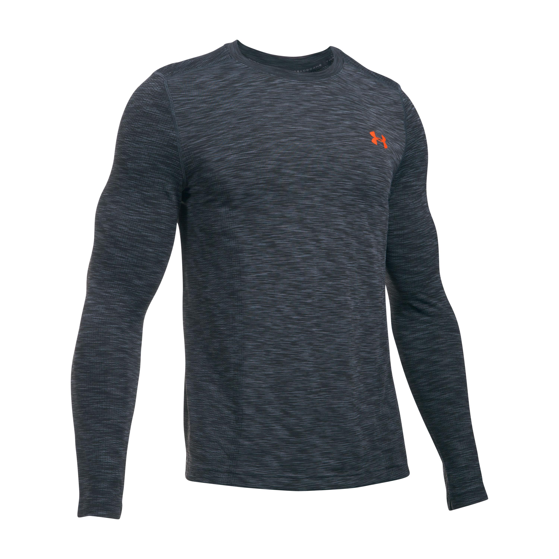 Under Armour Fitness Threadborne Seamless Long Arm Shirt gray/re