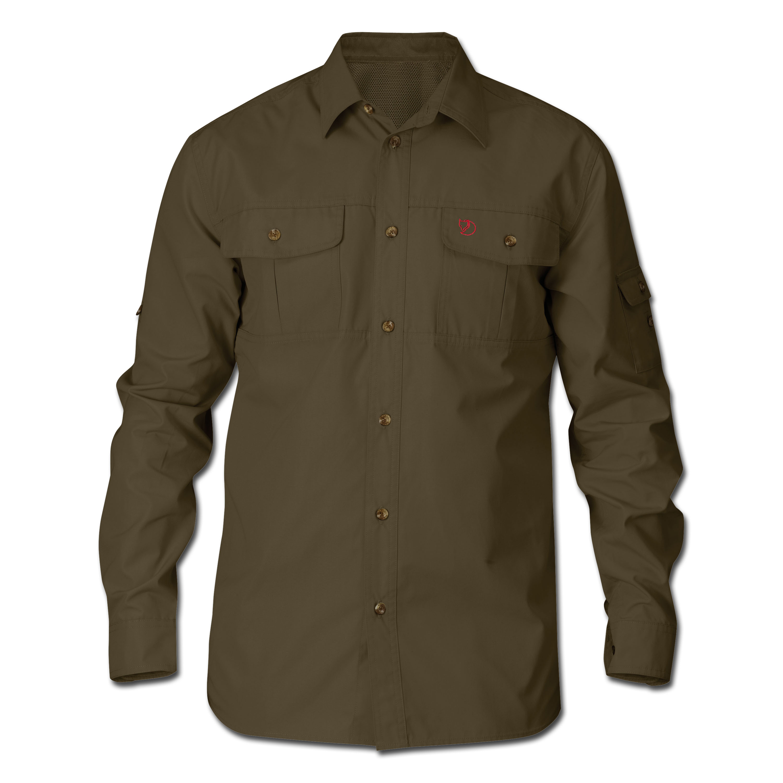 Fjällräven Sarek Trekking Shirt dark olive