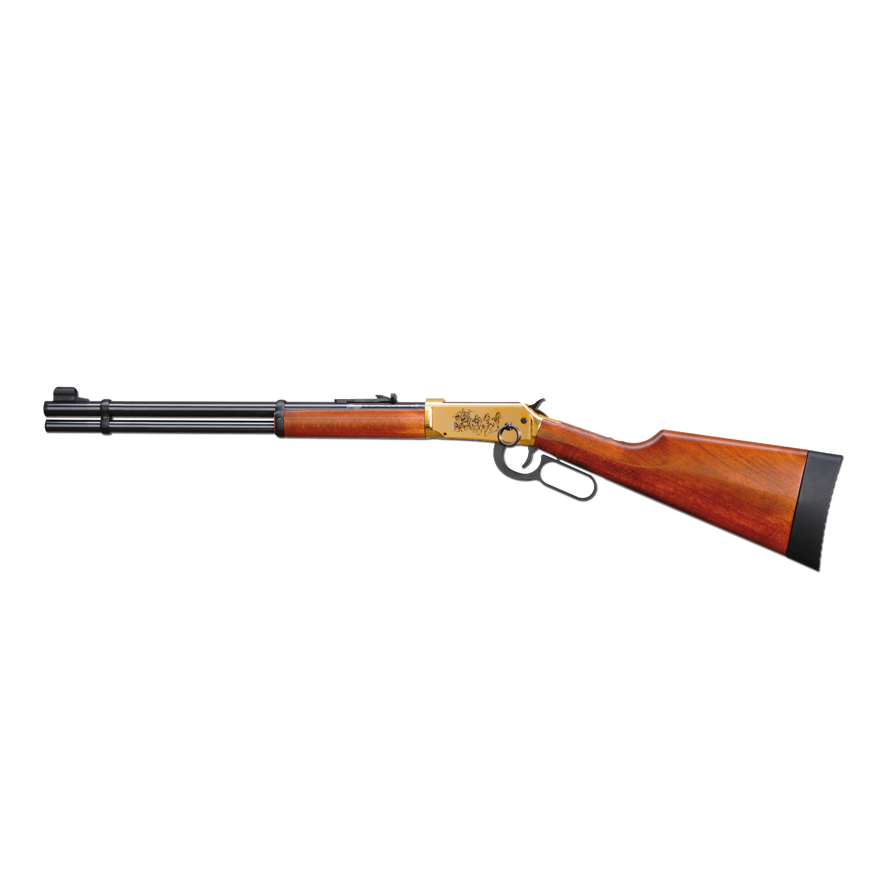 Walther Lever Action Air Rifle Wells Fargo gold