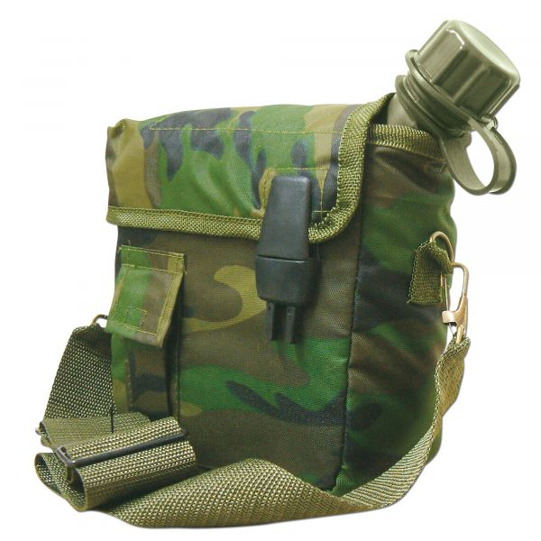 Canteen 2 qt with Pouch Import camo