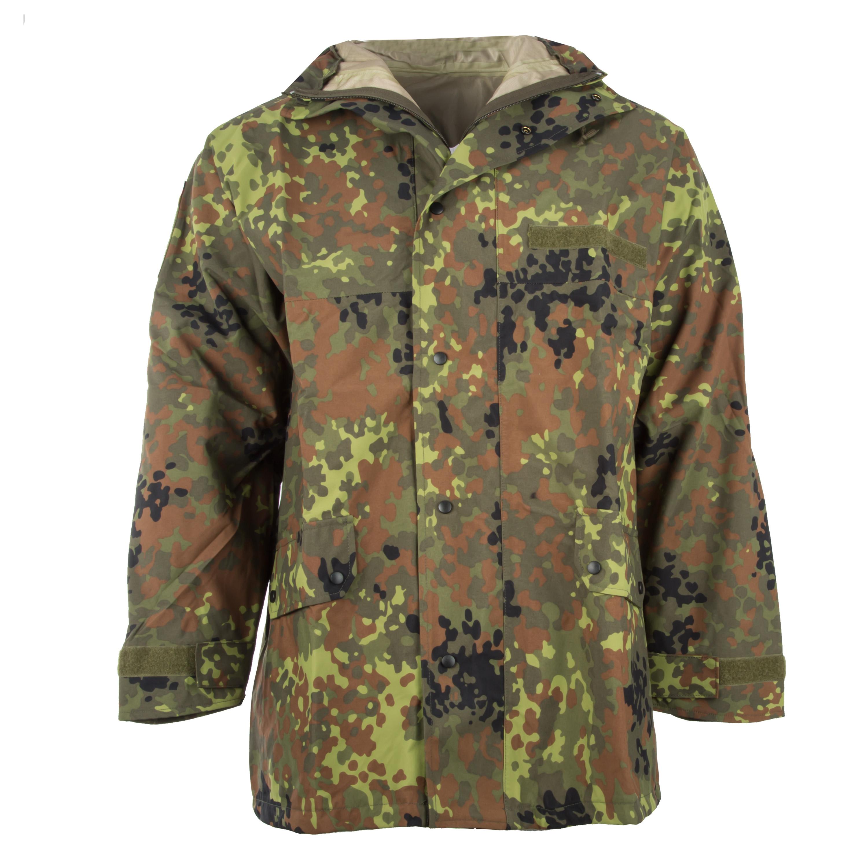 German Army Wet Weather Jacket flecktarn New
