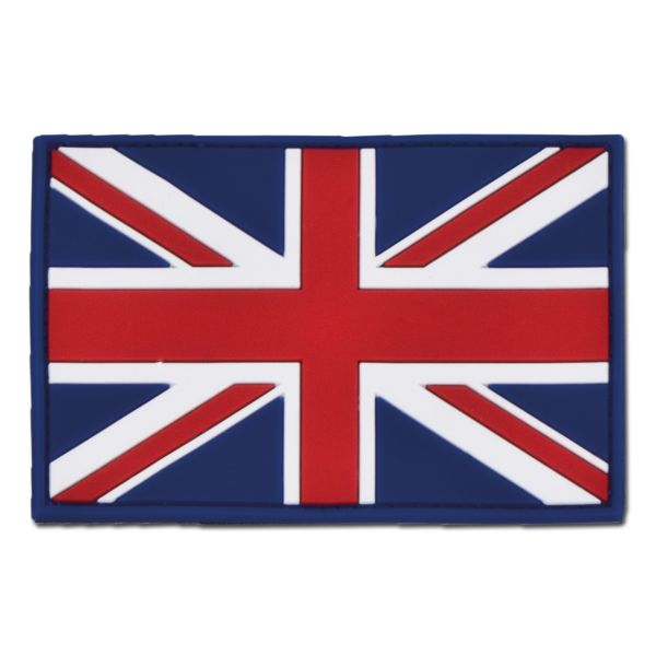 3D-Patch Great Britain Flag full color