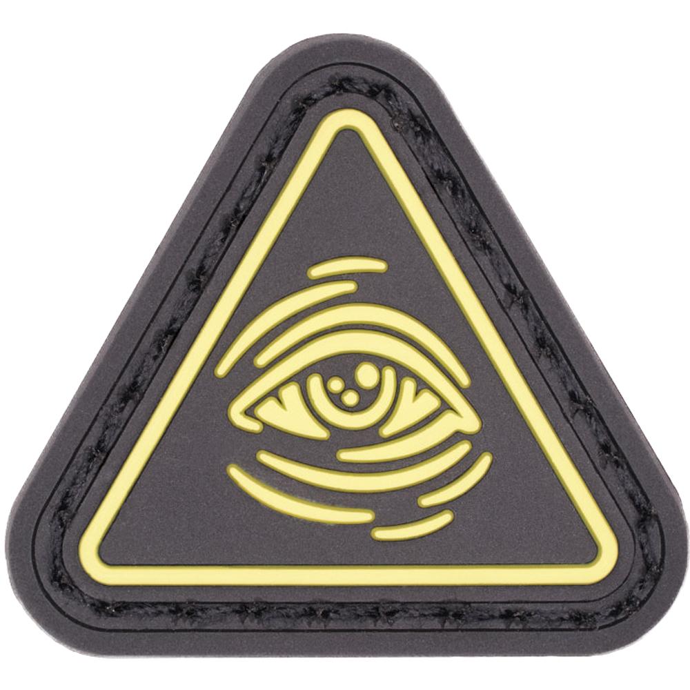 LMSGear Patch Cat Eye All Seeing Eye yellow